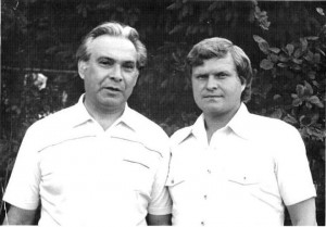 На даче в Портновской (1984 год)